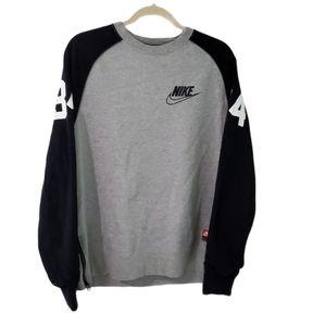 Nike Tech 34 Varsity Graphic Crew Neck Sweatshirt